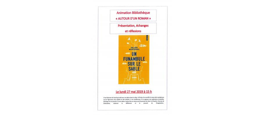 Animation Bibliothèque - lundi 27 mai 15h