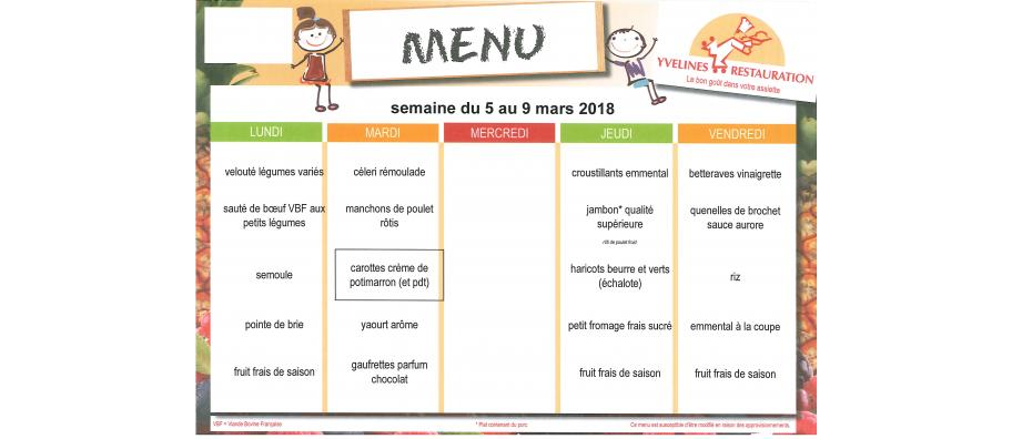 REPAS CANTINE