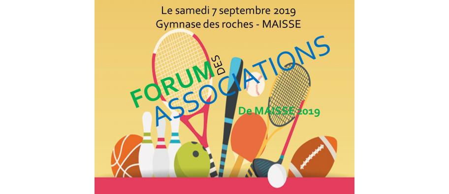 Forum des associations - samedi 7 septembre 2019