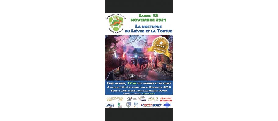 La nocturne le lièvre et la tortue - 13/11/2021