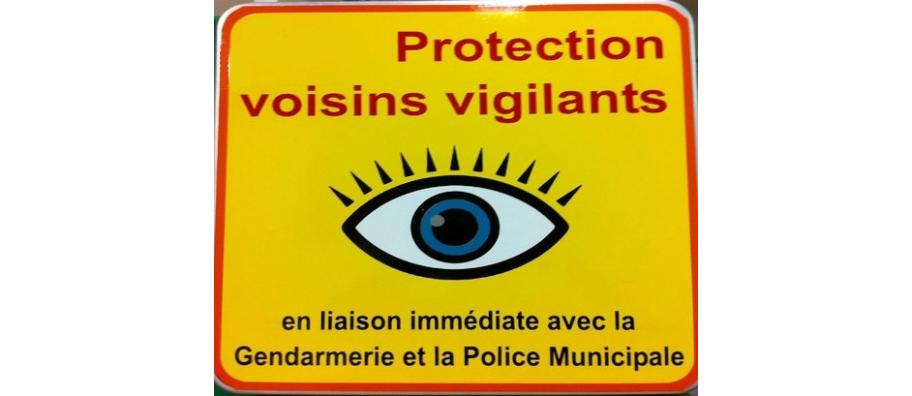 Voisins vigilants en liaison immédiate avec la Gendarmerie