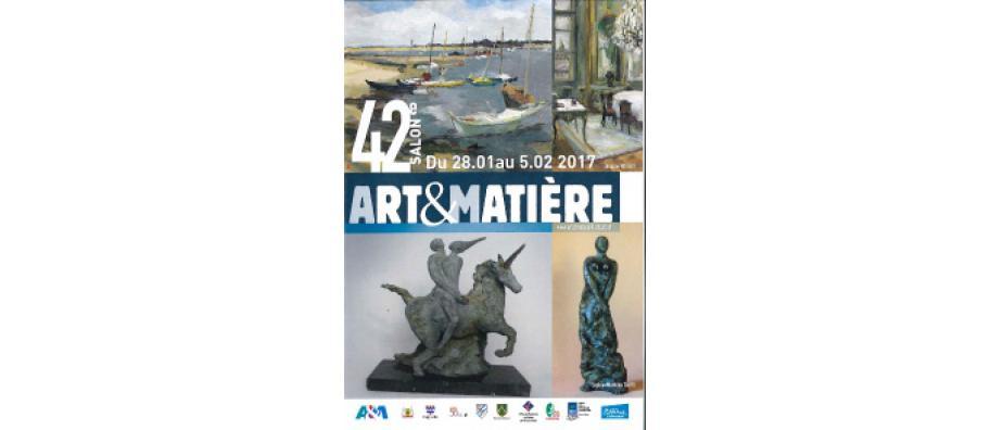 42ème salon Art & Matière